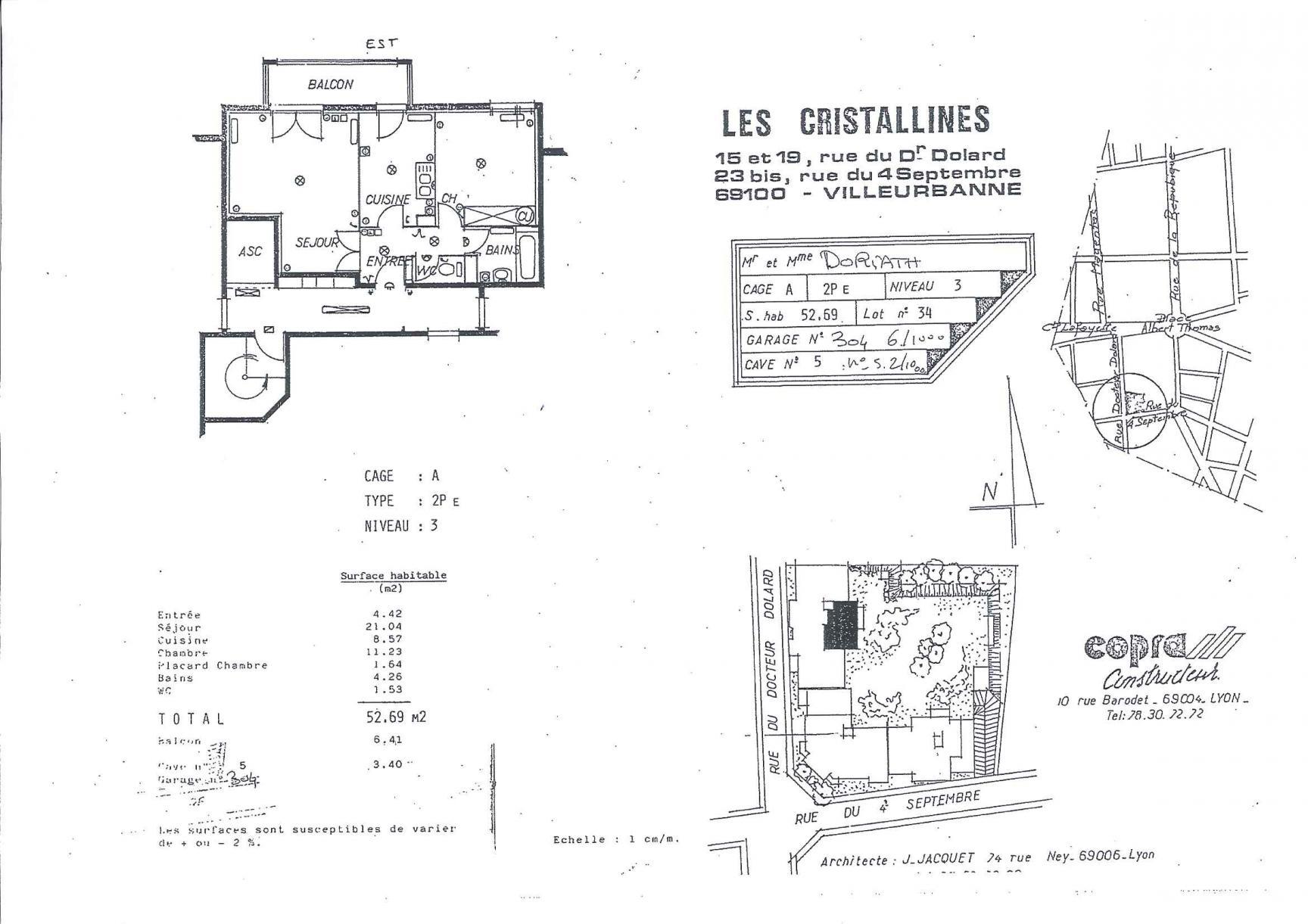 Photos de Appartement à Villeurbanne (69100)