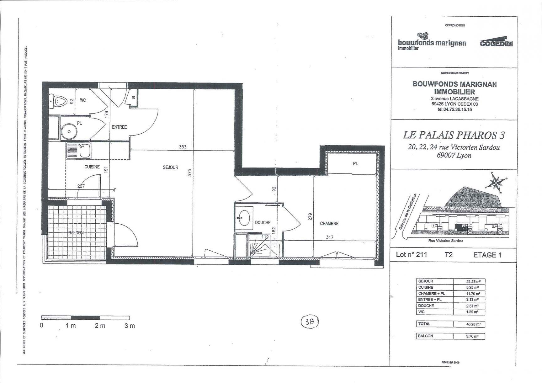 Location Appartement Lyon - Nexity